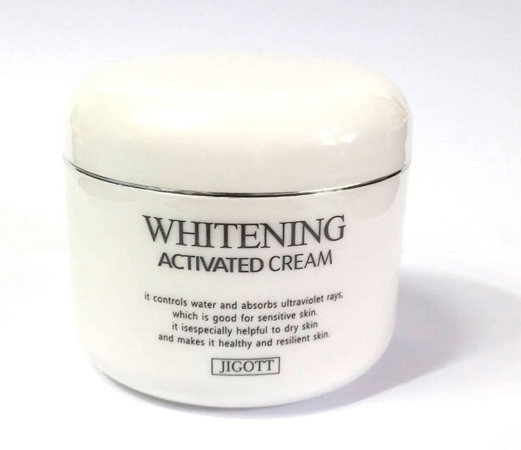 Фото  JIGOTT Крем для лица Whitening Activated Cream
