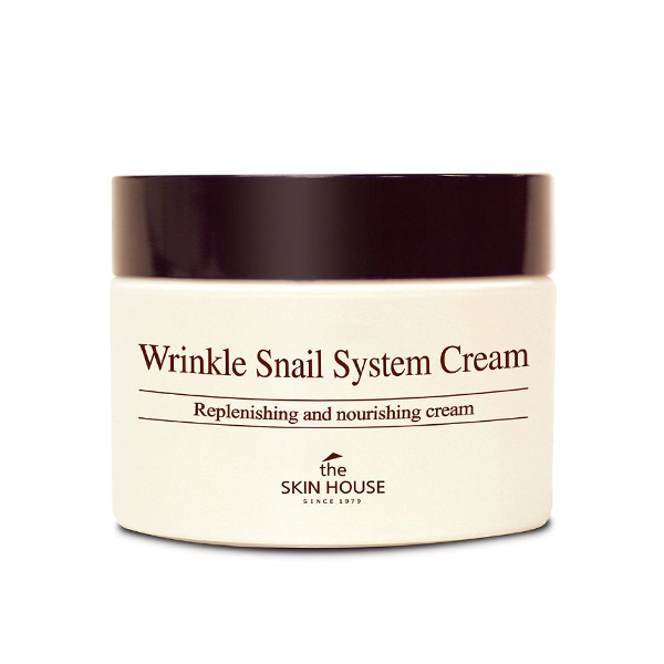 Фото  The Skin House Wrinkle Snail System Cream, 50ml