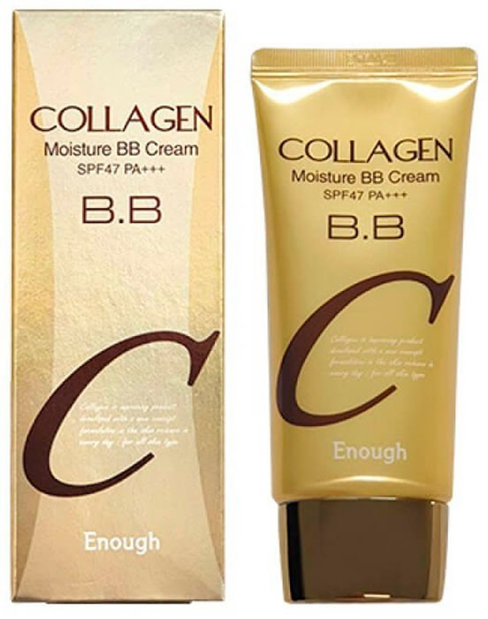 Фото  ENOUGH Увлажняющий BB крем с коллагеном Collagen Moisture BB Cream SPF47 PA+++