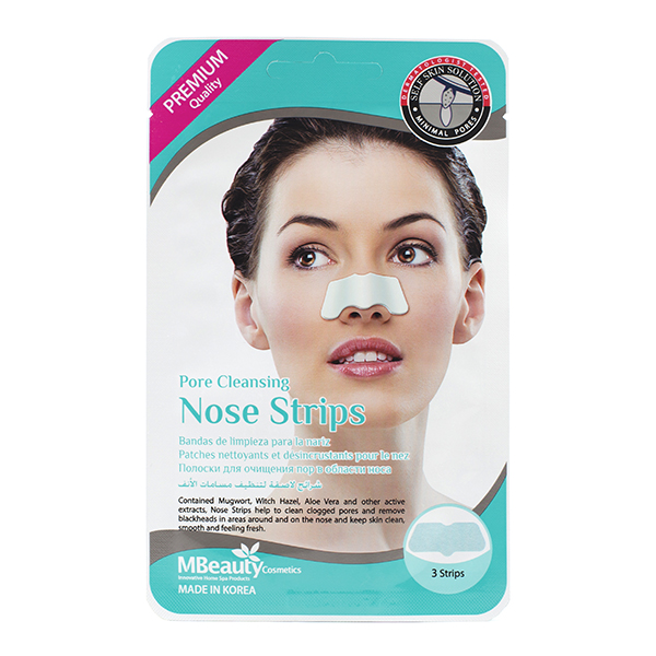 Фото  MBeauty Pore Cleansing Nose Strips, 3pcs*5g