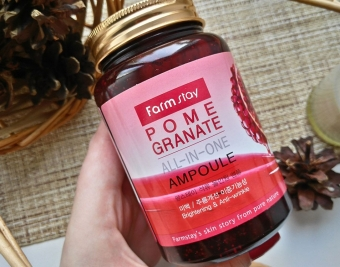 FarmStay Многофункциональная сыворотка с экстрактом граната Pomegranate All-In-One Ampoule