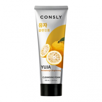 Consly Yuja Revitalizing Creamy Cleansing Foam, 100ml