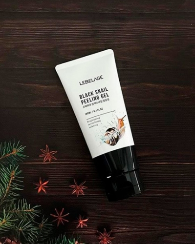 LEBELAGE Black Snail Peeling Gel, 180ml