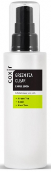 COXIR Green Tea Clear Emulsion, 100ml