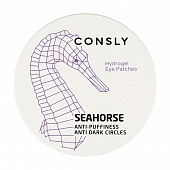 CONSLY Hydrogel Seahorse Eye Patches, 60pcs