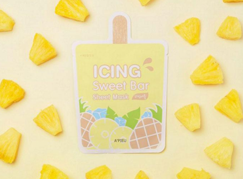 A'PIEU Тканевая маска с экстрактом ананаса Icing Sweet Bar Sheet Mask Pineapple