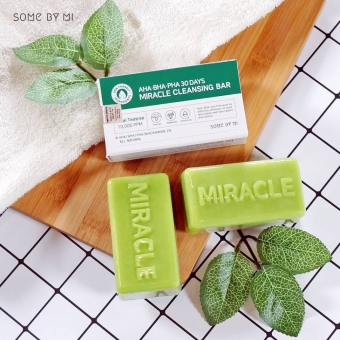 SOME BY MI Очищающее мыло с кислотами AHA·BHA·PHA 30 DAYS MIRACLE CLEANSING BAR