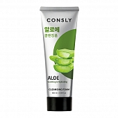 Consly Aloe Vera Soothing Creamy Cleansing Foam, 100ml