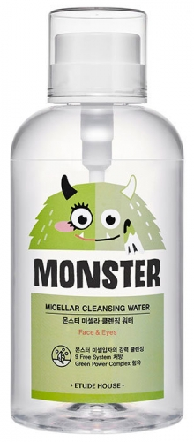 ETUDE HOUSE Мицеллярная вода Monster Micellar Cleansing Water 700ml